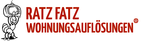 RATZ FATZ WOHNUNGSAUFLÖSUNGEN ® – Haushaltsauflösungen, Entrümpelungen Logo